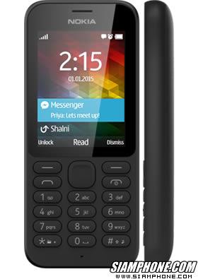 Nokia 215 โทรศัพท์มือถือ หน้าจอ 2.4 นิ้ว